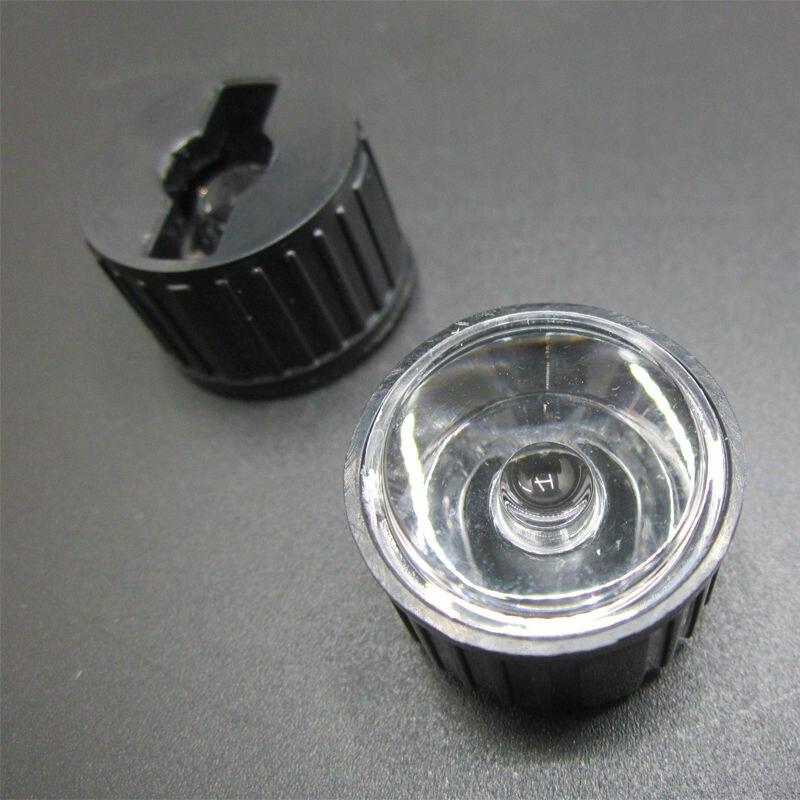 Acrylic Optics Angle 20 Deg LED Lens with Plastic Holder 20mm 1W 3W 5W M126