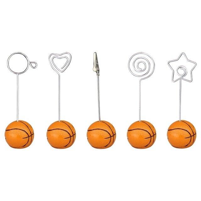 Basketball basis draht foto clip/memo halter, stand tabelle ort ...