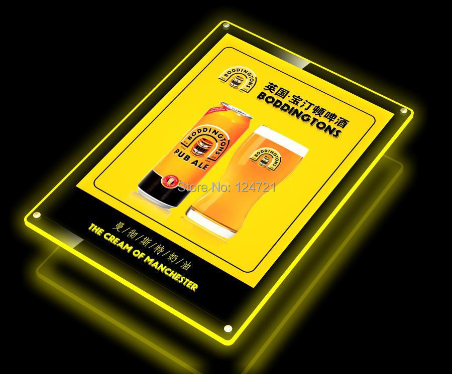 Magnetic Advertising Light Box Led ,Acrylic Frame a4 New Invention 2014 new in stock zus64815