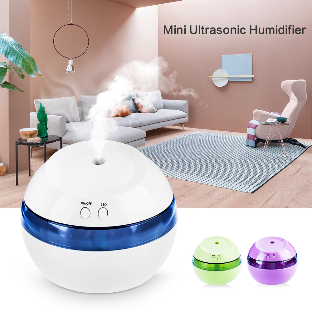 New Mini Ultrasonic Humidifier USB Car Air Humidifier for Home Office Aroma Cool Mist Humidifier Sound-off Portable Aromatherapy mini ultrasonic humidifier usb car air humidifier for home office car aroma cool mist humidifier sound off portable aromatherapy