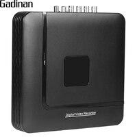 GADINAN AHD 4MP DVR 4CH 8CH Optional H 264 Mini Hybrid 5 In 1 XVI CCTV
