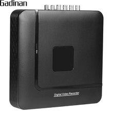 Gadinan AHD 4MP DVR 4CH 8CH дополнительно H.264 + мини гибридный 5 в 1 XVI видеонаблюдения DVR NVR xmeye 3G Wi-Fi VGA HDMI для AHD 3MP 4MP Камера