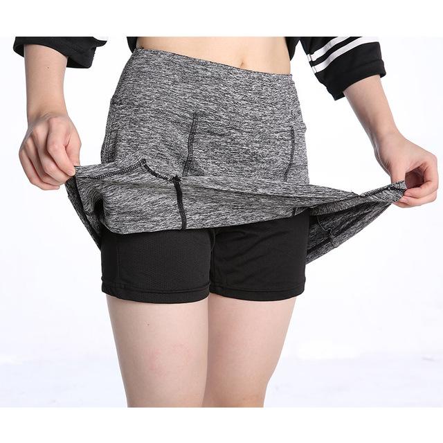 EAST HONG Women Tennis Badminton Sport Short Skirts Golf Running Fitness Skorts