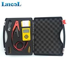 Analyseur automobile numérique avec imprimante, testeur de conductivité 2000cca 200ah, outil de Diagnostic de la batterie de voiture, 12V, LancolMICRO 300