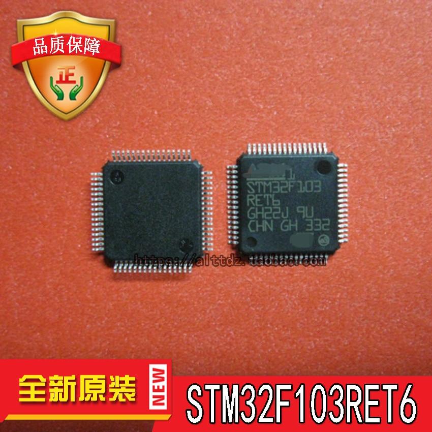 Free shipping 10pcslot STM32F103RET6 STM32F103 LQFP64 32 512K STM stock