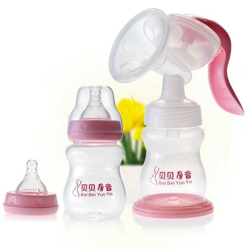 Sozzy руководство ребенка молокоотсос 210 мл молока новорожденных кормление грудью младенческой Розовый молокоотсосы-MKA061 PT49 ...