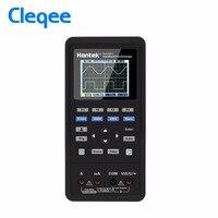 Hantek 3in1 Цифровой рукой Осциллограф 2 Каналы 40 МГц 70 МГц + генератор сигналов мультиметр портативный USB ЖК дисплей тесты инструмент