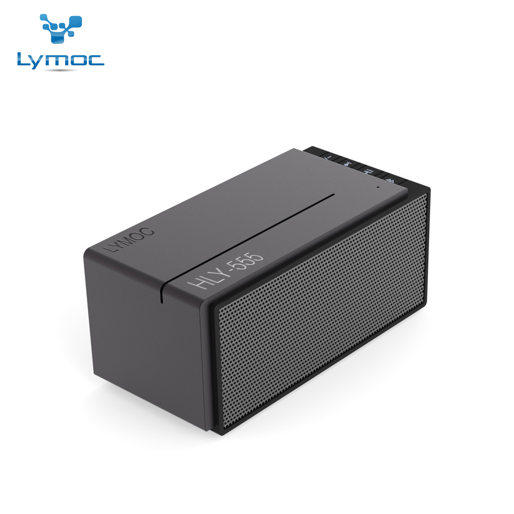 LYMOC Metal Bluetooth Speakers Wireless Subwoofer Music Player TF Card U-Disk 3D Hi-Fi Sound 3.5mm Lound Box HD MIC for iPhone