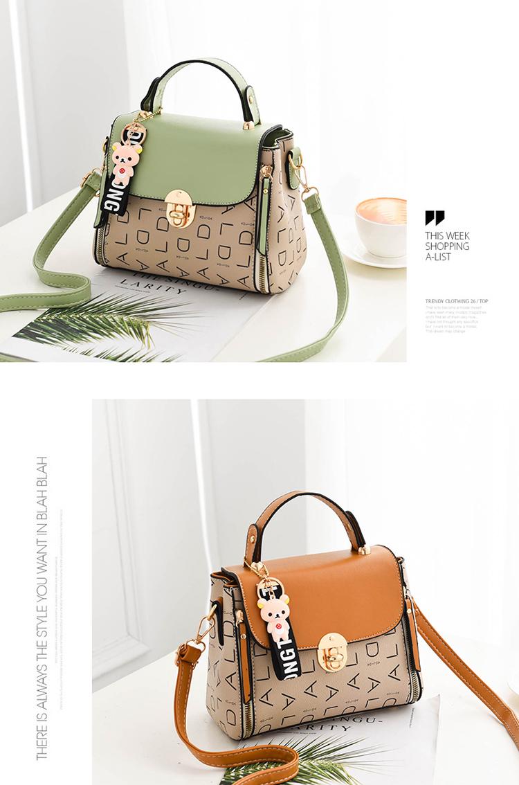 Popular Woman Handbags Fashion Leather Messenger Bag Trendy new one-shoulder diagonal small square bag Bolsa Feminina louis gg 58