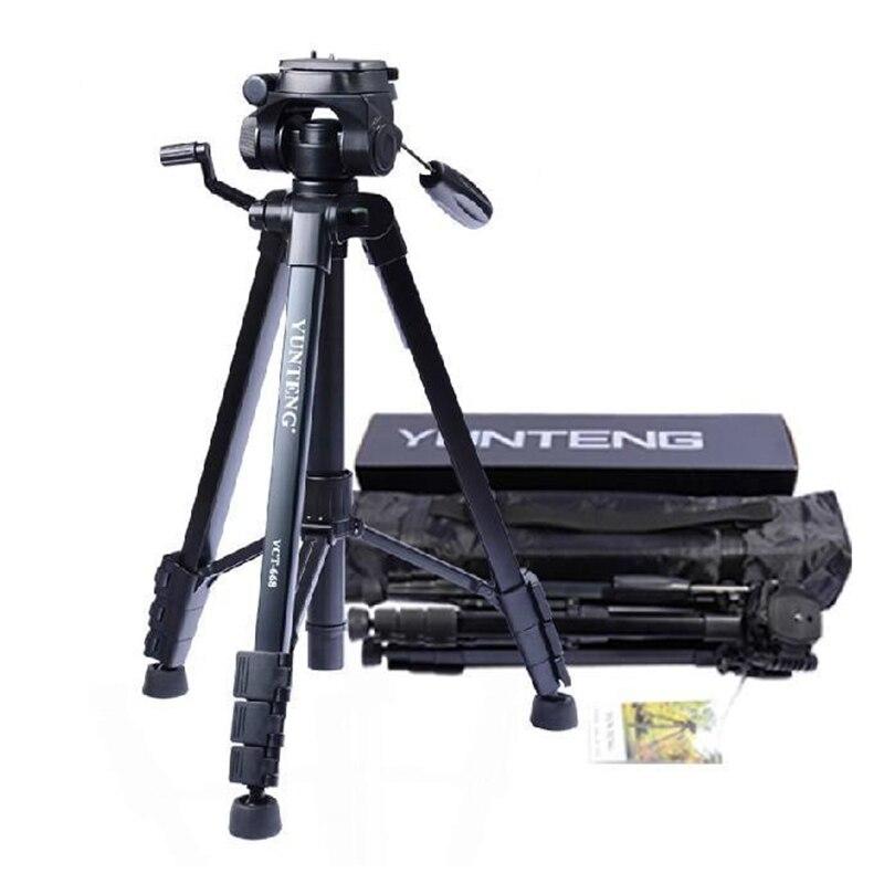 Yunteng VCT-668 Профессиональный Гибкий штатив монопод для зеркальной цифровой Камера Поддержка с переносной футляр с шариковой головкой