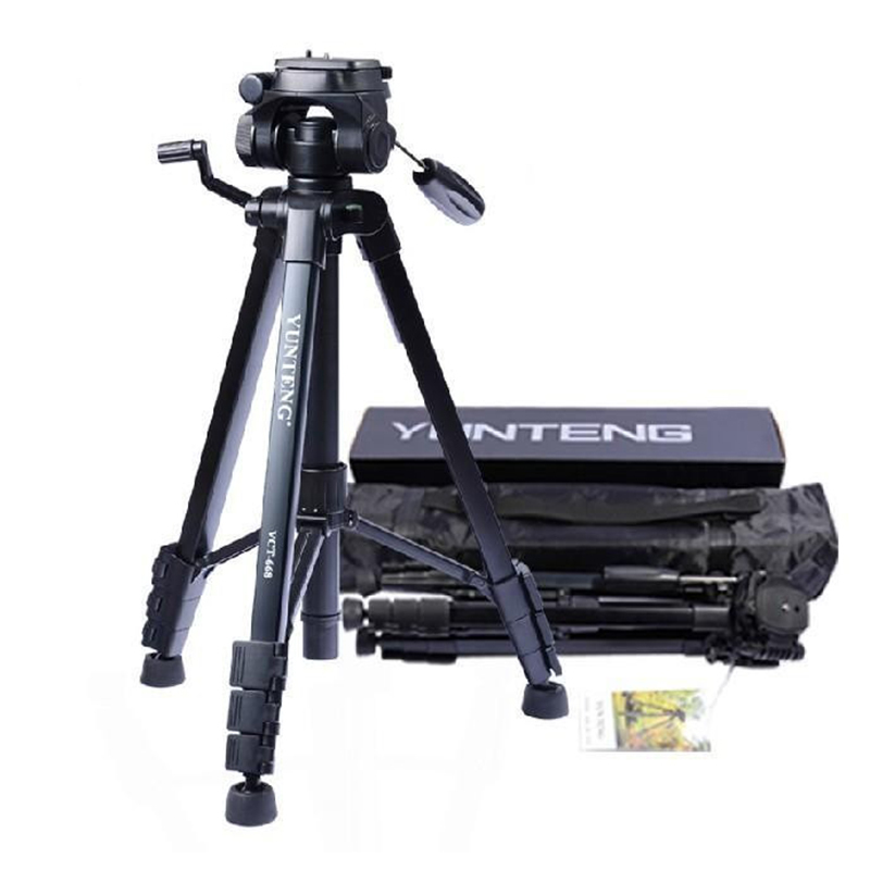 Yunteng VCT-668 Professional Flexible Tripod To Monopod for SLR Digital Camera Support with Ball Head Carrying Bag yunteng vct 588 monopod