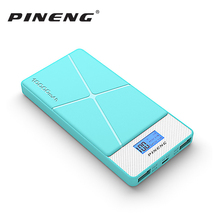 Pineng Power Bank 10000mah PN-983 External Battery Pack Powerbank With Led Display 5V 2.1A For iPhone Samsung LG HTC Xiaomi OPPO