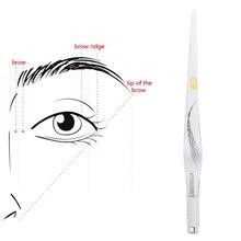 Microblading Татуировка Ручная акриловая прозрачная ручка PCD 5Pcs Kit Перманентный макияж бровей губ вышивка иглы татуировки питания