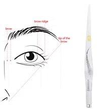 Микроблейдинг тату ручная Ручка Акриловая Прозрачная pcd ручка