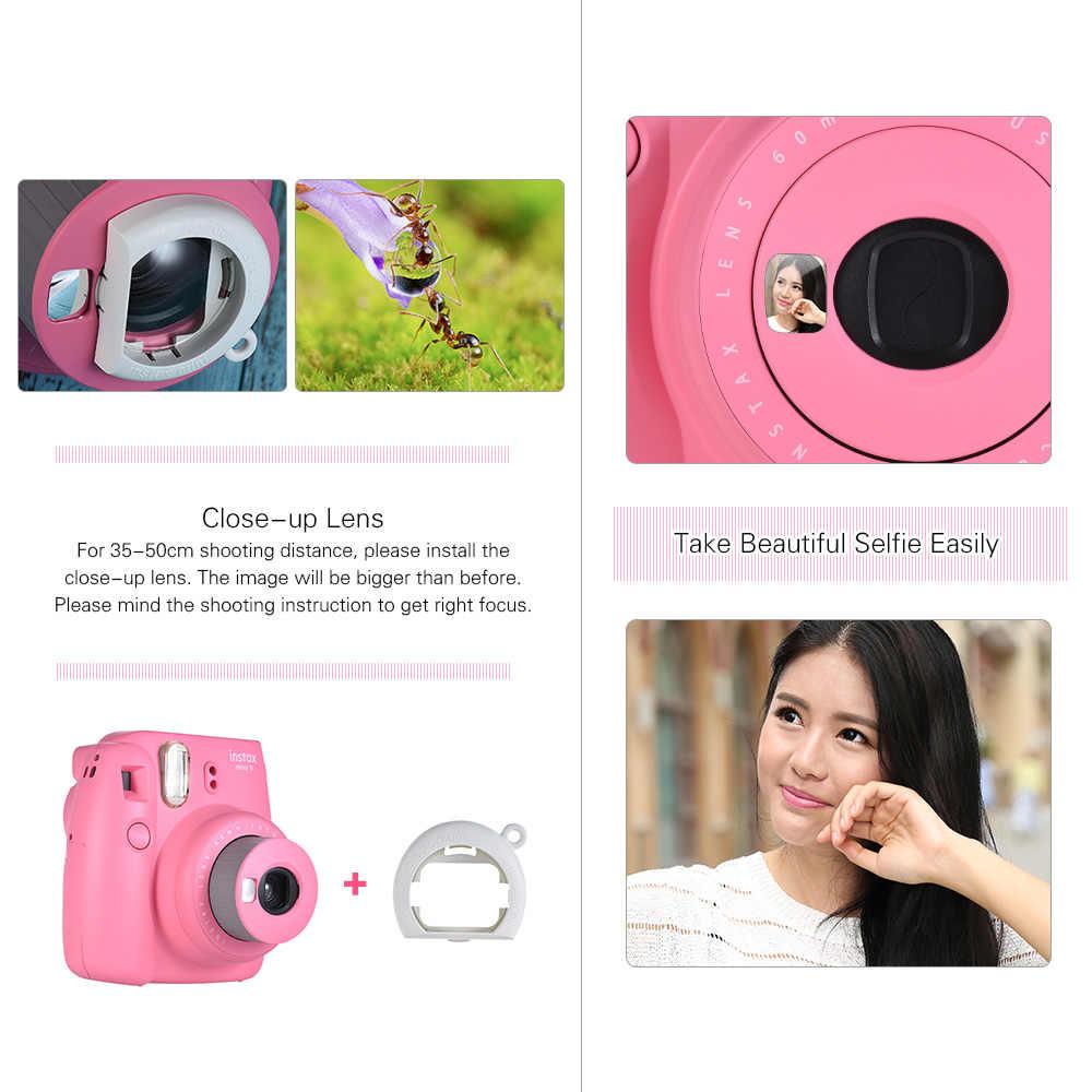 Nowy 5 kolory Fujifilm Instax Mini 9 aparat natychmiastowy aparat fotograficzny + 40 arkuszy papier fotograficzny akcesoria fotograficzne