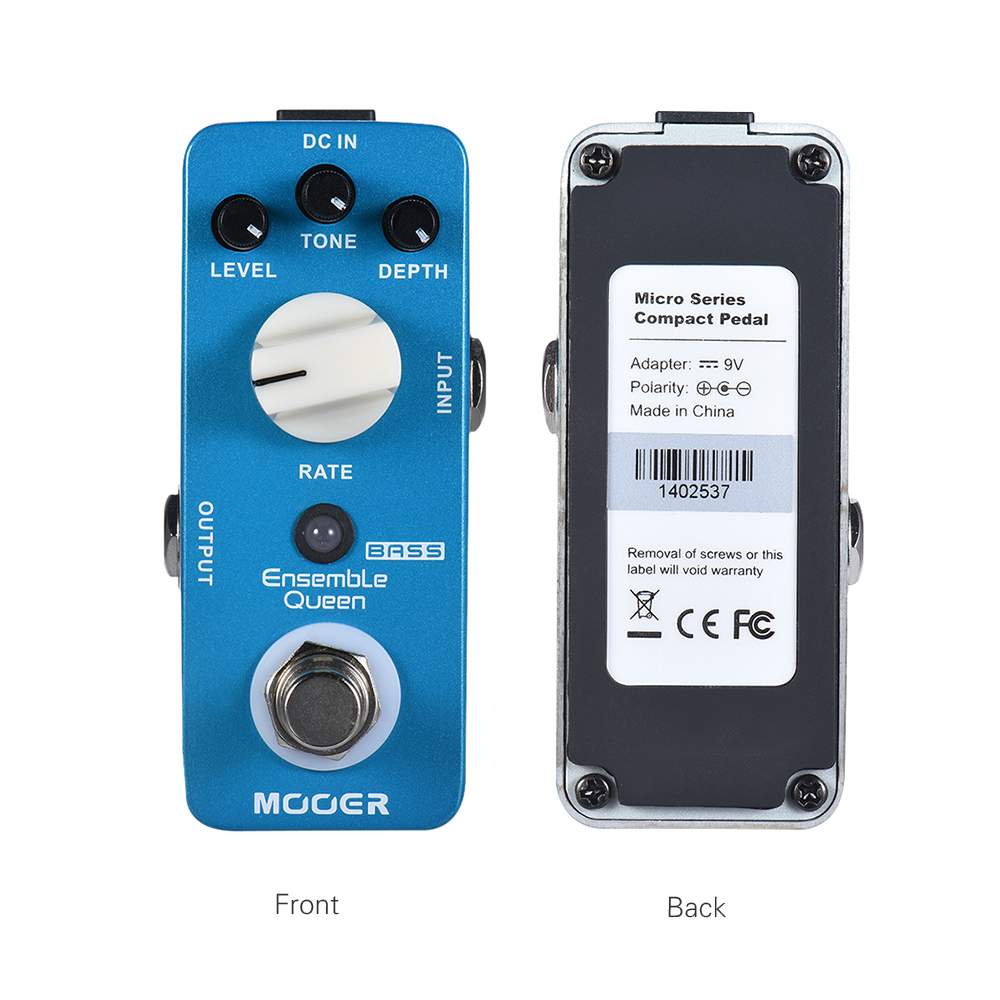US $68 0 |MOOER Ensemble Queen Bass Chorus Effect Pedal True Bypass Full  Metal Shell-in Guitar Parts & Accessories from Sports & Entertainment on