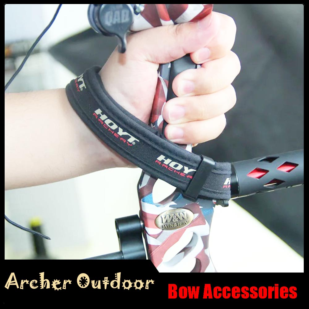 Adjustable Outdoor Hunting Archery Compound Bow Braided Wrist Sling Strap