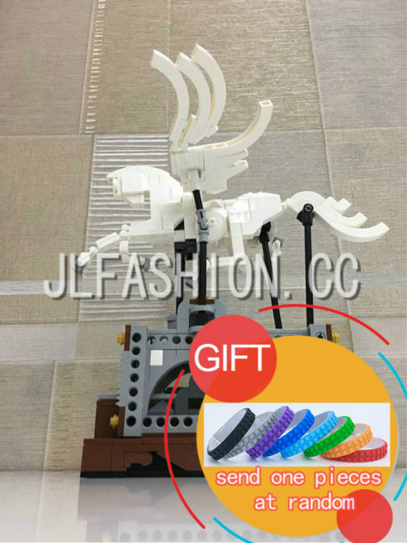 23015 485Pcs Technical Series The Pegasus Automaton Mechanical Flying Horse Set Educational Building Blocks lepin