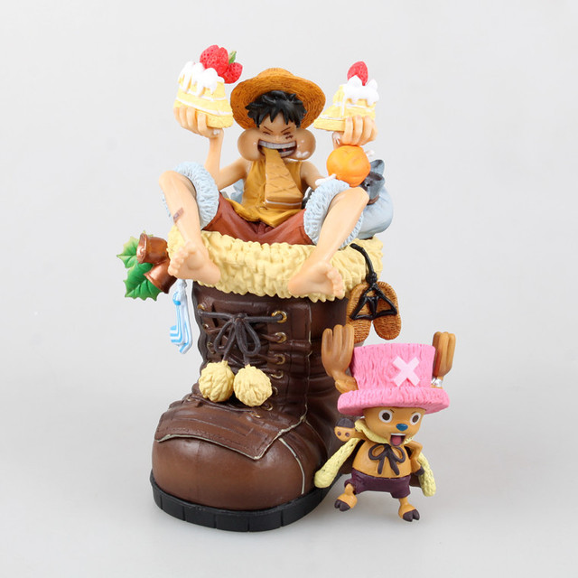 One Piece Chopper New World Christmas Boots Action Figure Toy