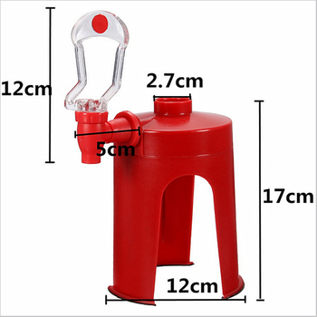 Novetly HouseHold Portable Bar Kitchen Accessories Drinking Dispense  Cool Soda Water Coca Coke Fizz Gadget Saver Dispenser 2