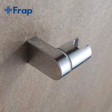 Frap 20pcs ABS Swivel Handheld Shower Seat holder With Shower Hose Connector Round Chrome Polished Hook F30-1(China)