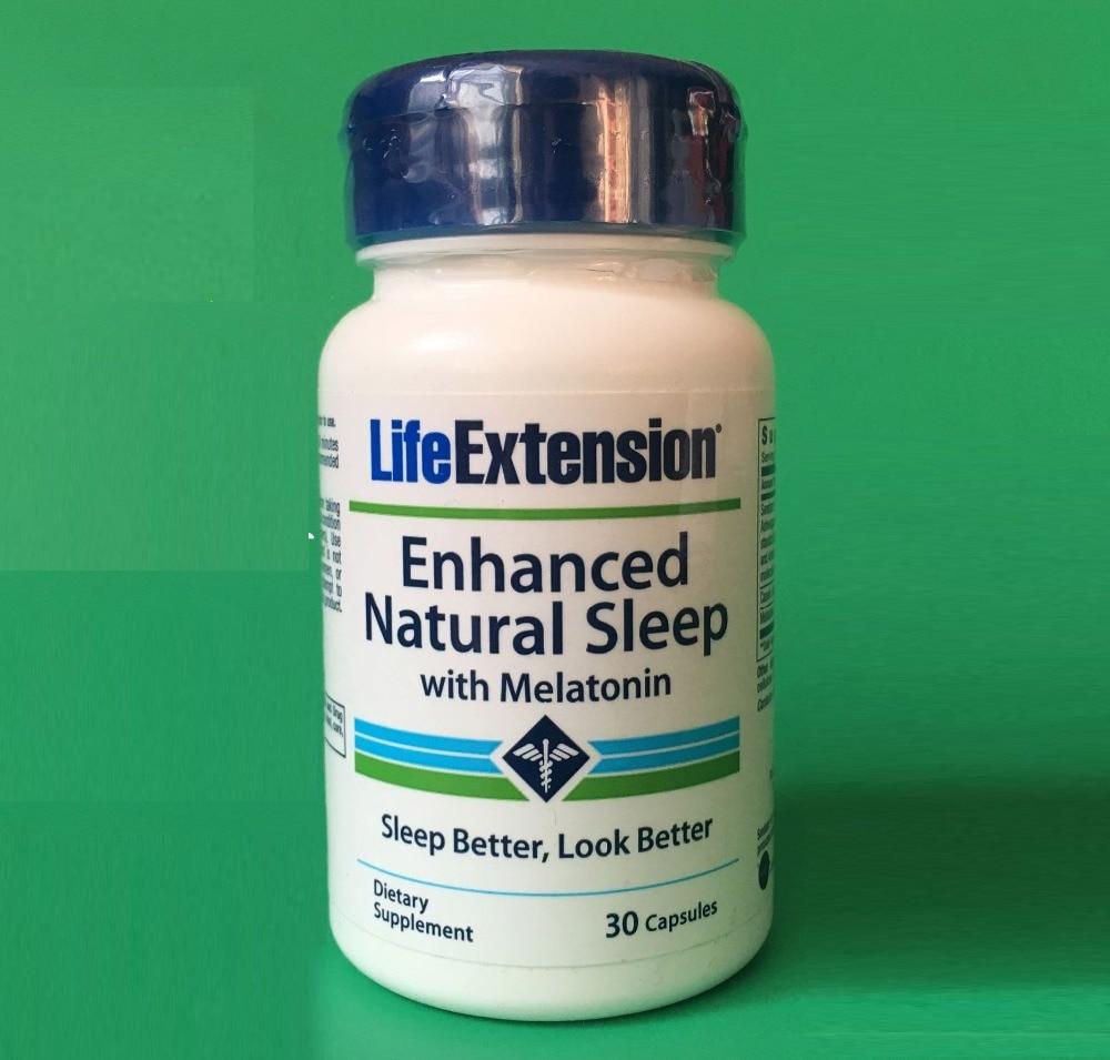 Enhanced Natural Sleep with melatonin 30 pcs 1 bottle melatonin softgel melatonin soft capsule improve health anti aging protect prostate improving sleep