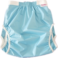 Free Shipping FUUBUU2228 BLUE Waterproof Pants Adult Diaper Incontinence Pants Pocket Diapers