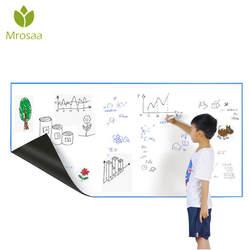 Mrosaa A3 30*42 см гибкие магниты на холодильник доски Водонепроницаемый дети рисования сообщение доска магнитная холодильник Блокнот