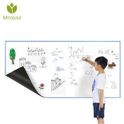 Mrosaa A3 30*42 cm Flexível Imã de geladeira Quadro Branco À Prova D' Água Crianças Desenho Message Board Magnética Geladeira Memo Pad