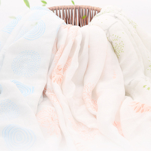 Summer Ultrathin Breathable Muslin Swaddle Blanket