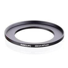Original RISE (royaume uni) 49mm 67mm 49 67mm 49 à 67 adaptateur de filtre à anneau dentraînement noir