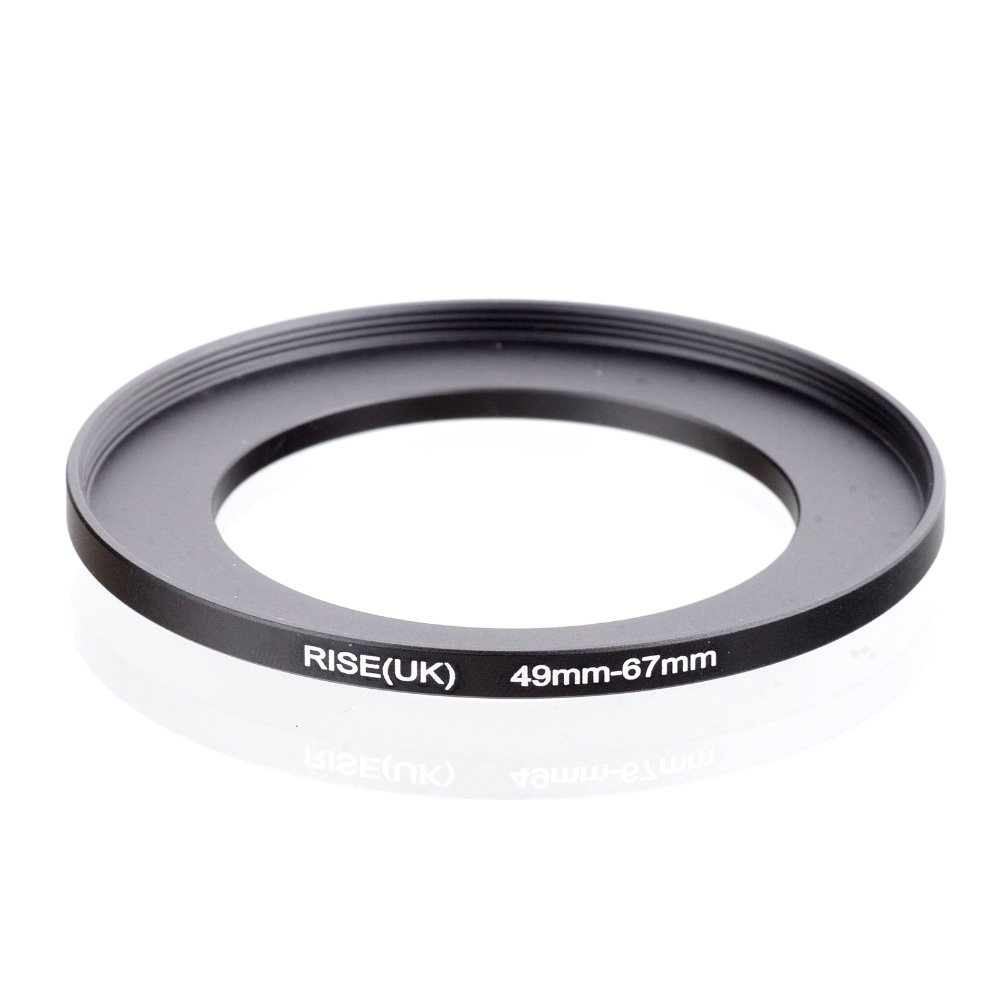 original RISE(UK) 49mm-67mm 49-67mm 49 to 67 Step Up Ring Filter Adapter black free shipping все цены