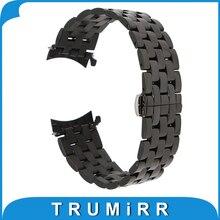 18mm 20mm 22mm 24mm Montre En Acier Inoxydable Bande pour Casio BEM 302 307 501 506 517 EF MTP Butterfly Boucle Bracelet Poignet Bracelet