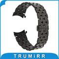 18mm 20mm 22mm venda de reloj de acero inoxidable para casio bem 302 307 501 506 517 ef mtp butterfly correa de hebilla de la correa pulsera