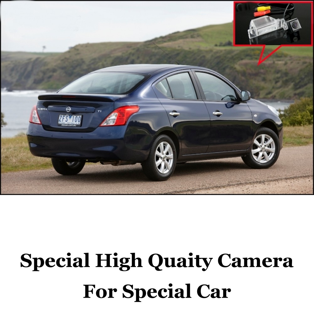 Car Camera For Nissan Almera  Genuine High Quality Rear View Back Up Camera For Friends Use  CCD + RCACar