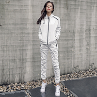Sport Suits Jackets Pants Set Autumn Winter Running Jogging Suits Sweat Boost Sauna Sets Gym Clothes Fitness Workout Sportswear