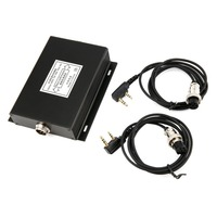 Portable Black SD 2 Digital Repeater Box for DMR Walkie Talkie Ham Radio Transceiver Interchangeable Cable