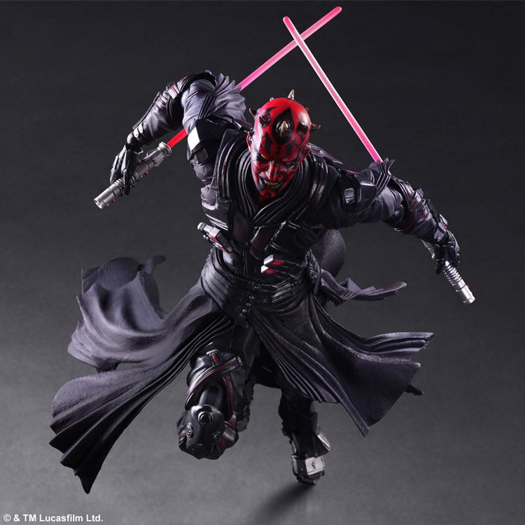 NEW hot 28cm Star Wars 7 The Force Awakens Darth Maul mobile action figure toys Christmas toy szda