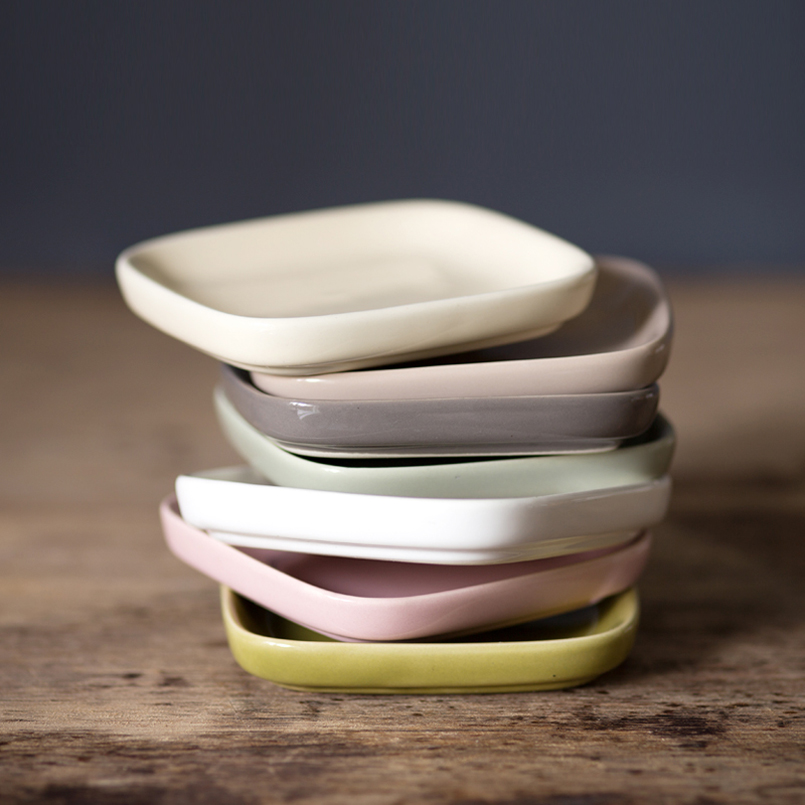 Ceramic Plates Small Dish Sauce Creative Japanese Dishes Snack Dips Vinegar Dish Meal Small Side Dish Cutlery + Placemats-in Dishes u0026 Plates from Home ... & Ceramic Plates Small Dish Sauce Creative Japanese Dishes Snack Dips ...