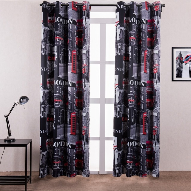 New Europe Style Design Curtain Blackout Curtain Window Shades For Hotel Bedroom Fabric Curtains