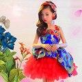 chinese dance costumes for girls salsa skirt ballroom dancing dresses for kids