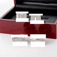 Jantenth Stainless Steel Ring Set Champion Soccer 4Pcs Men Ring Championship Custmized Wholesale Drop Shipping