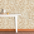 Wall stickers furniture waterproof tile stickers vintage beige mosaic