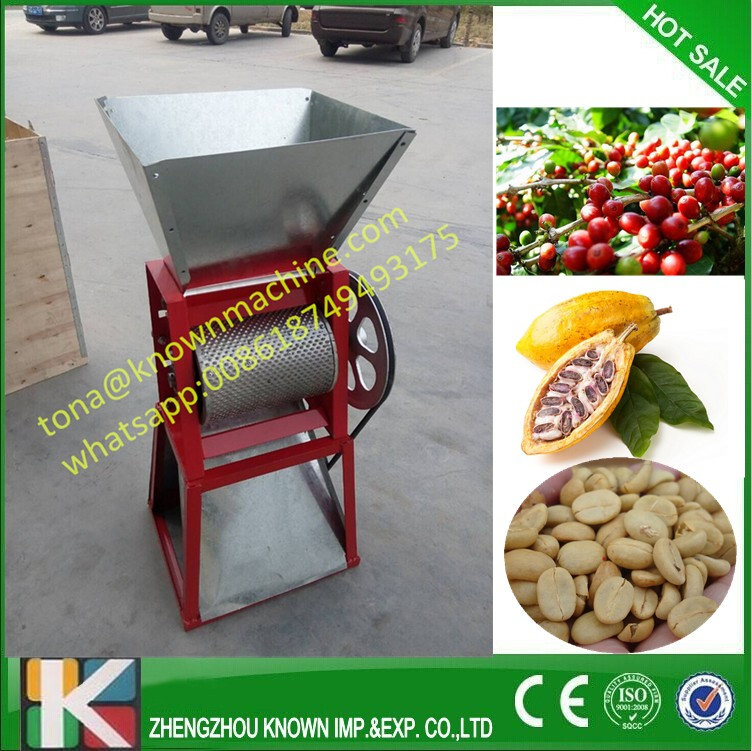 300-400 kg/hour coffee beans skin peeler machine cocoa remover