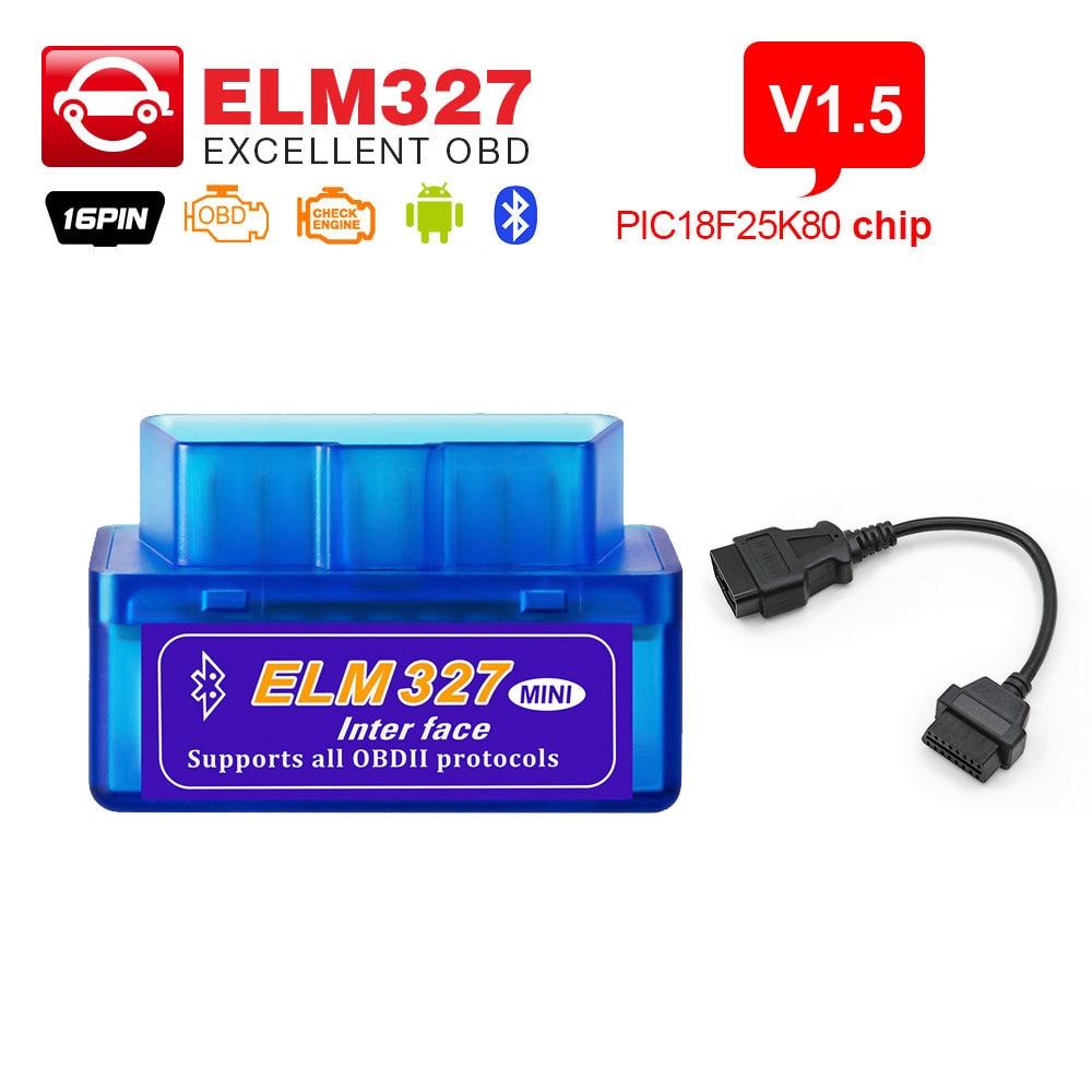per Android con PIC18F25K80 Torque Firmware V1.5/ELM327 con/Bluetooth OBD2,ELM 327,/Bluetooth