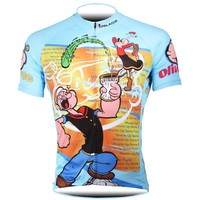 Find Deals Popeye Cycling Jersey Cycling Clothing Summer Racing Sport Bike  Jersey Tops Cycling Wear Short Sleeves Maillot ropa Ciclismo 21b00772e