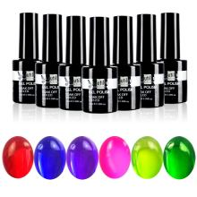 1pc Soak Off Glaze Gel Esmalte de Uñas Sin Toque Top Coat Acabado 10ml