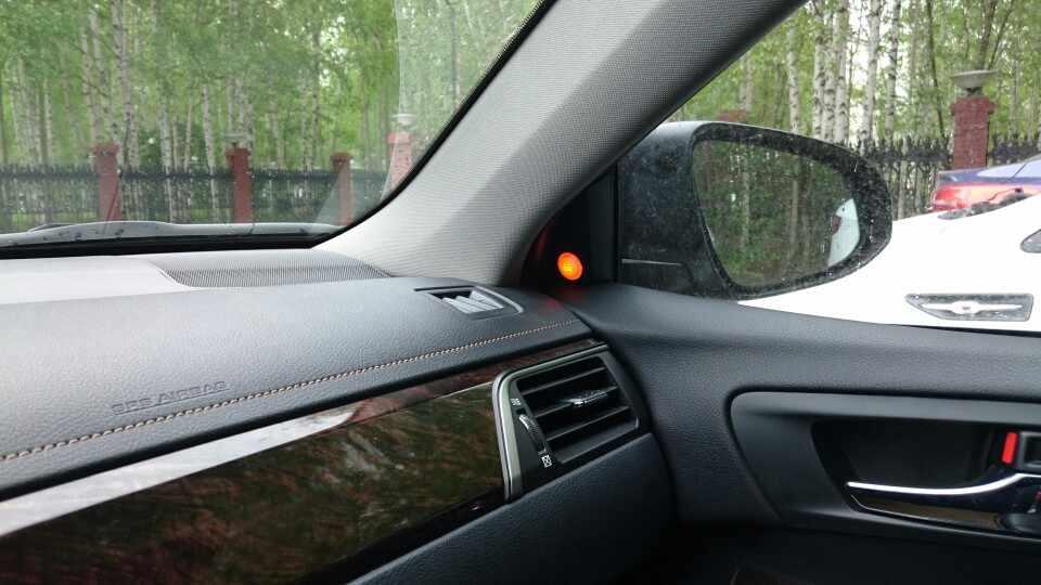 12 V BSD BSM Microwave Sensor Blind Spot Cermin Deteksi Radar W Lane Perubahan Peringatan Keamanan Blind Spot Mendeteksi Alarm untuk Mobil