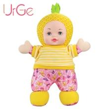 1 шт. плюшевые куклы милое Высокое качество мультфильм Желтый Ананас куклы Reborn Babies игрушки для детей на день рождения Рождественский подарок