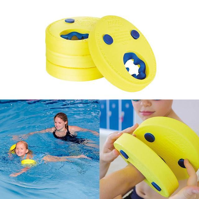 6PCs/ Pack EVA Foam Swim Discs Arm Bands Floating Sleeves Inflatable ...